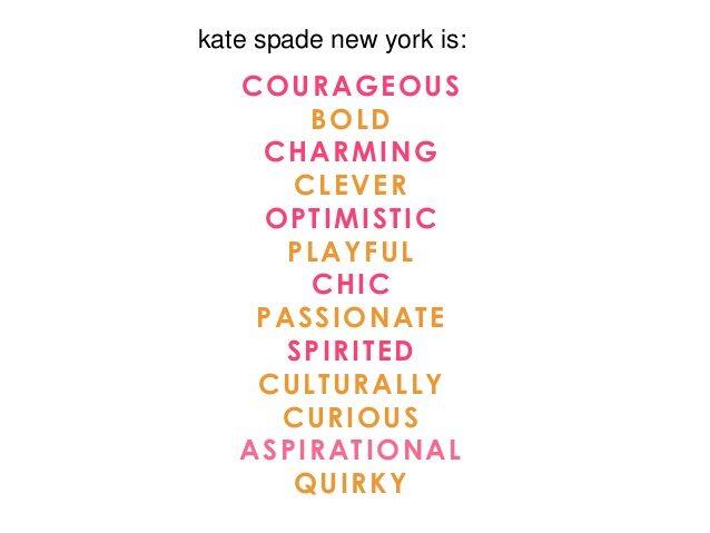 Kate Spade graphic